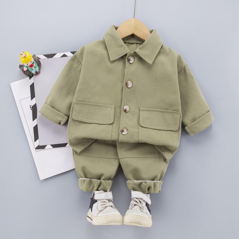 2-piece Coat & Pants for Toddler Boy