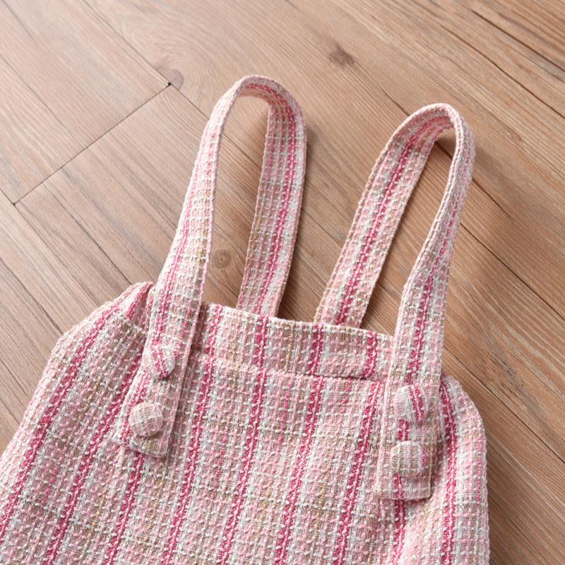 2-piece Strap Dress & Shirt for Toddler Girl
