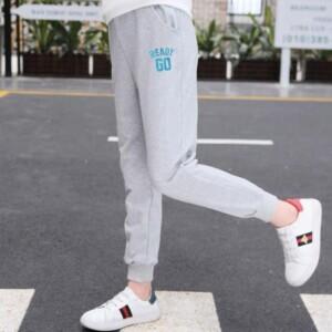 Letter Pattern Pants for Girls