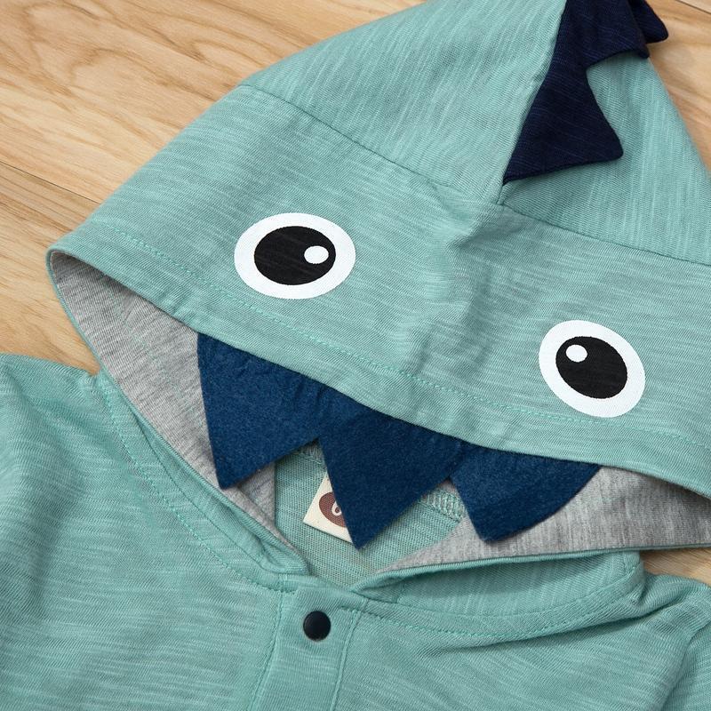 Dinosaur Pattern Jumpsuit for Baby Boy