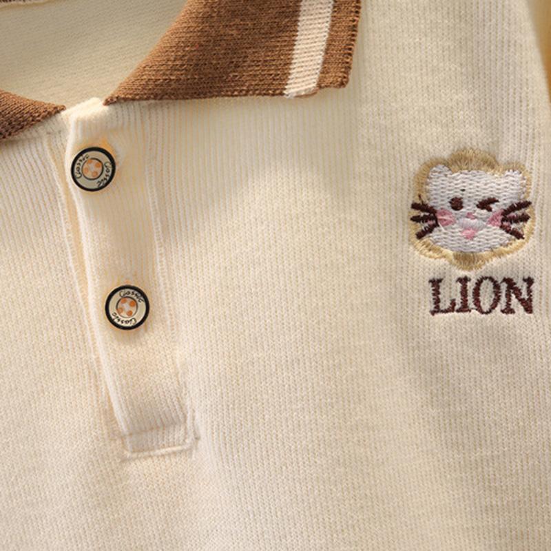 2-piece Long Sleeve T-shirt & Pants for Toddler Boy