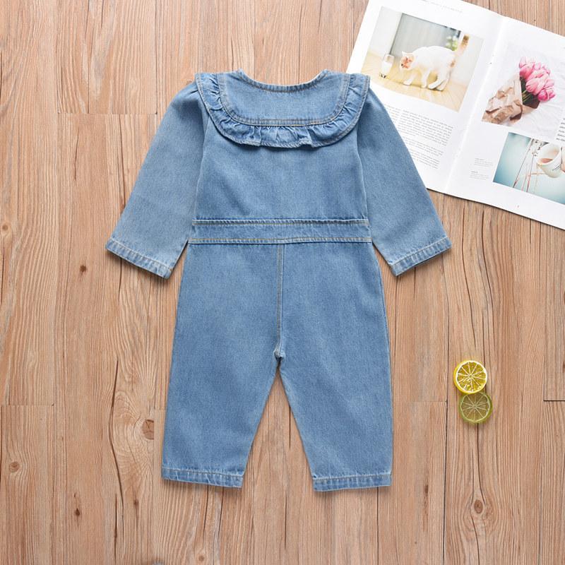 Denim Jumpsuit for Baby Girl