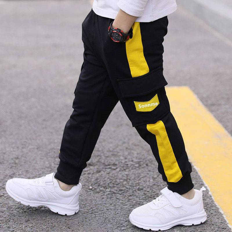 Letter Pattern Pants for Boy