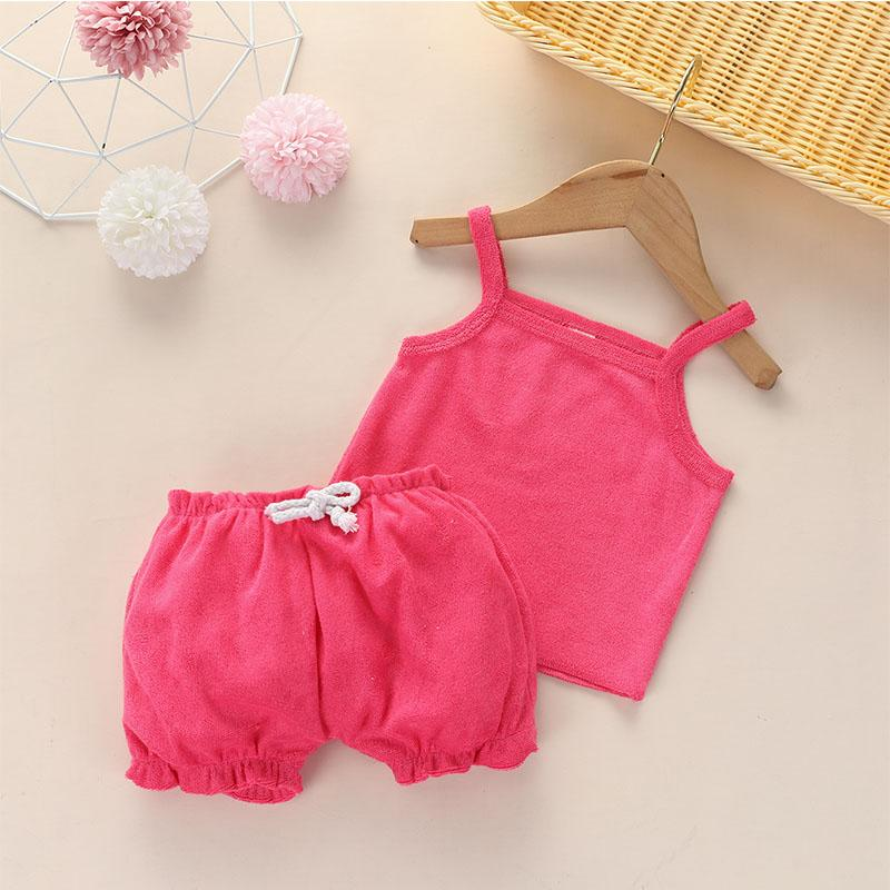 2-piece Sling Top & Shorts for Baby Girl