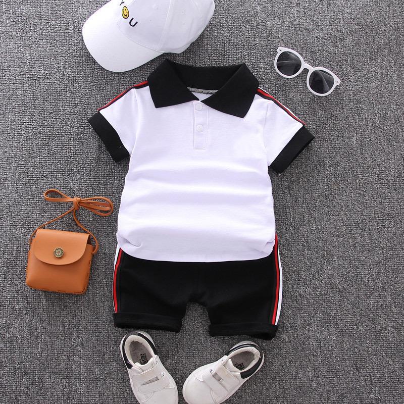2-piece Polo T-Shirt & Shorts for Toddler Boy