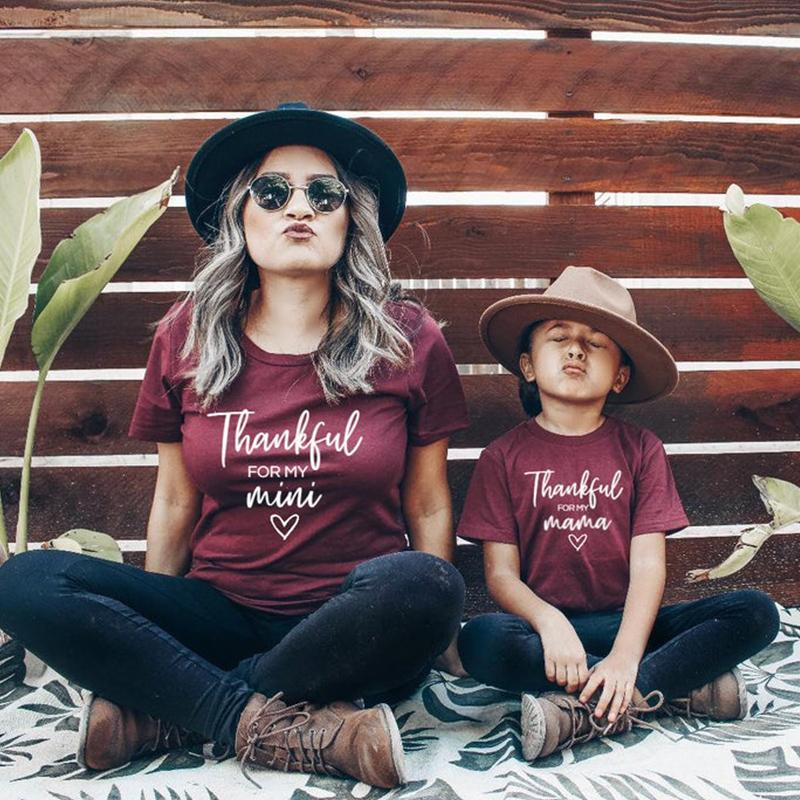 Thankful T-shirt for Mother & Baby