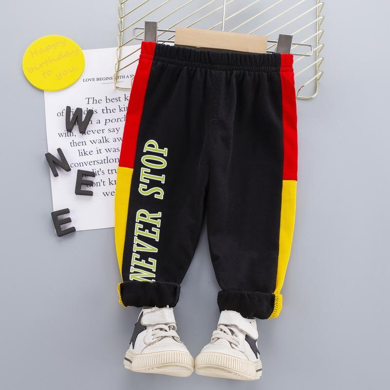 Color-block Sports Pants for Toddler Boy