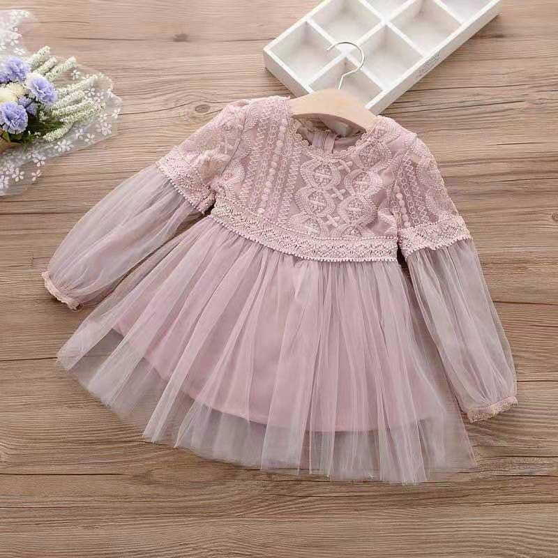 Lace Princess Dress for Toddler Girl