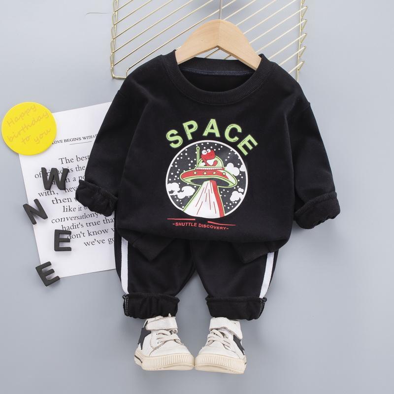 2-piece Sweatshirt & Pants for Toddler Boy