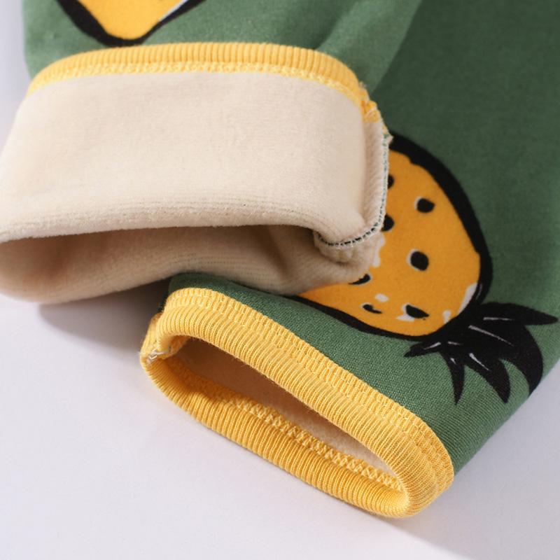 2-piece Cartoon Design Pajamas Sets for Toddler Boy
