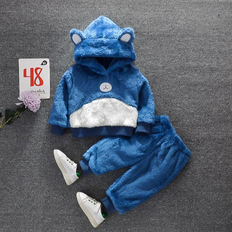Cartoon Design Hooded Jumpsuit for Toddler Boy