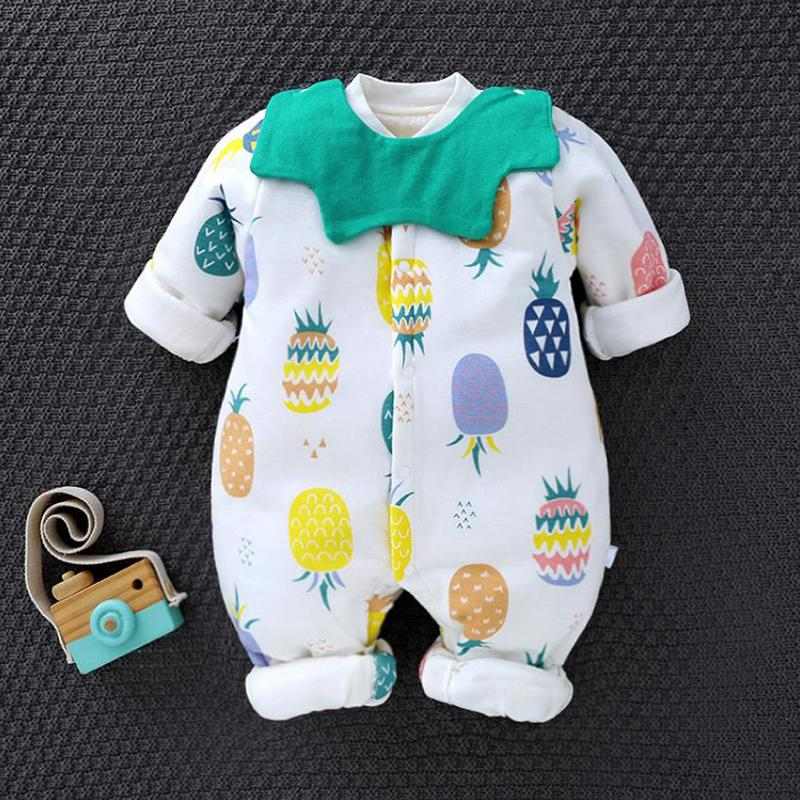 Floral Printed Jumpsuit for Baby Boy