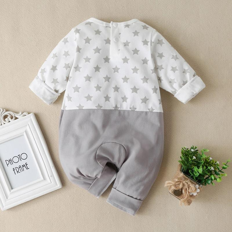 Heart-shaped Pattern Jumpsuit for Baby