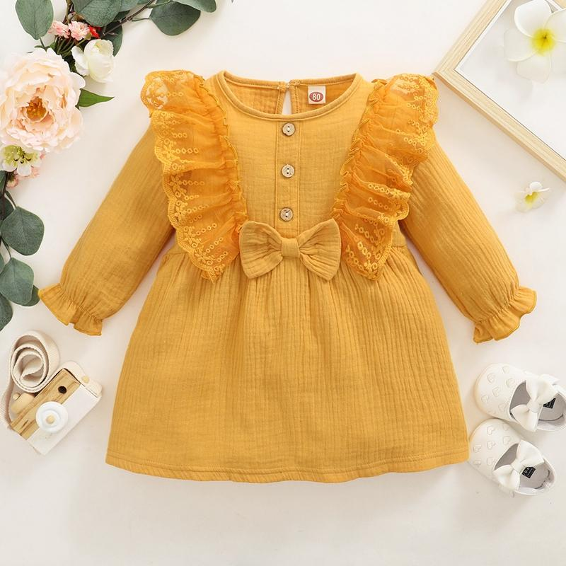 Ruffle Dress for Toddler Girl