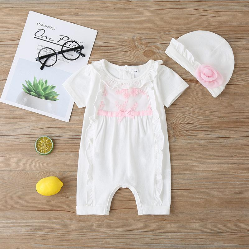 2-piece Bodysuit & Hat for Baby Girl
