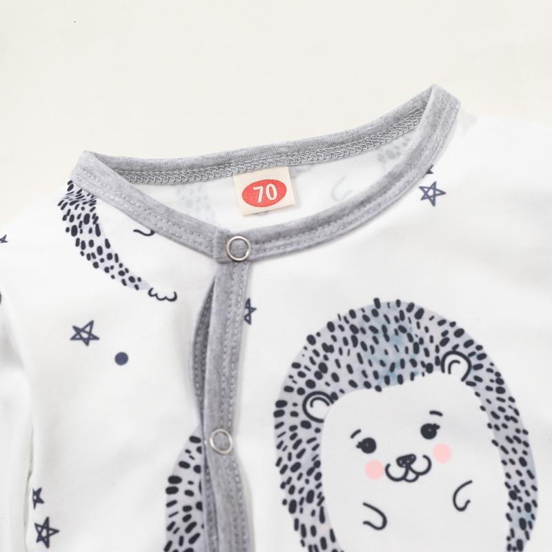 Little Hedgehog Pattern Jumpsuit for Baby