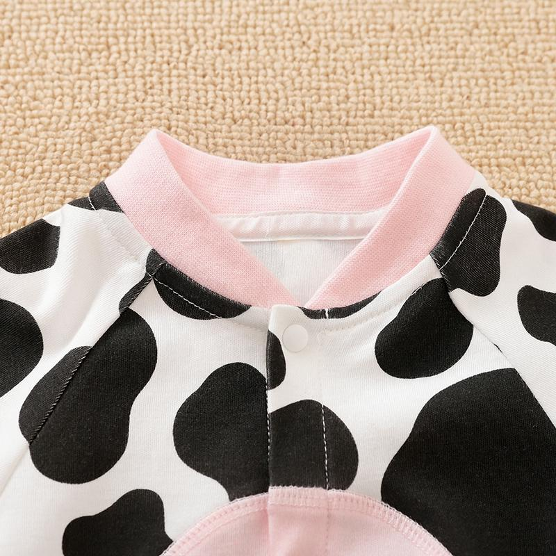 Cow Printing Jumpsuit for Baby Girl