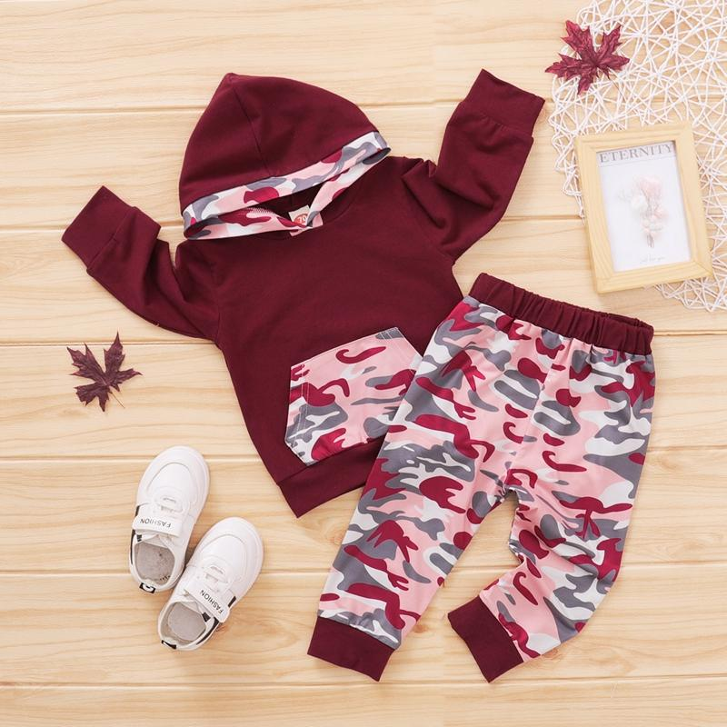2-piece Hoodie & Pants for Baby Girl