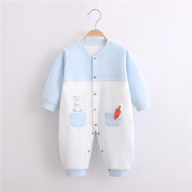 Rabbit Pattern Jumpsuit for Baby Boy