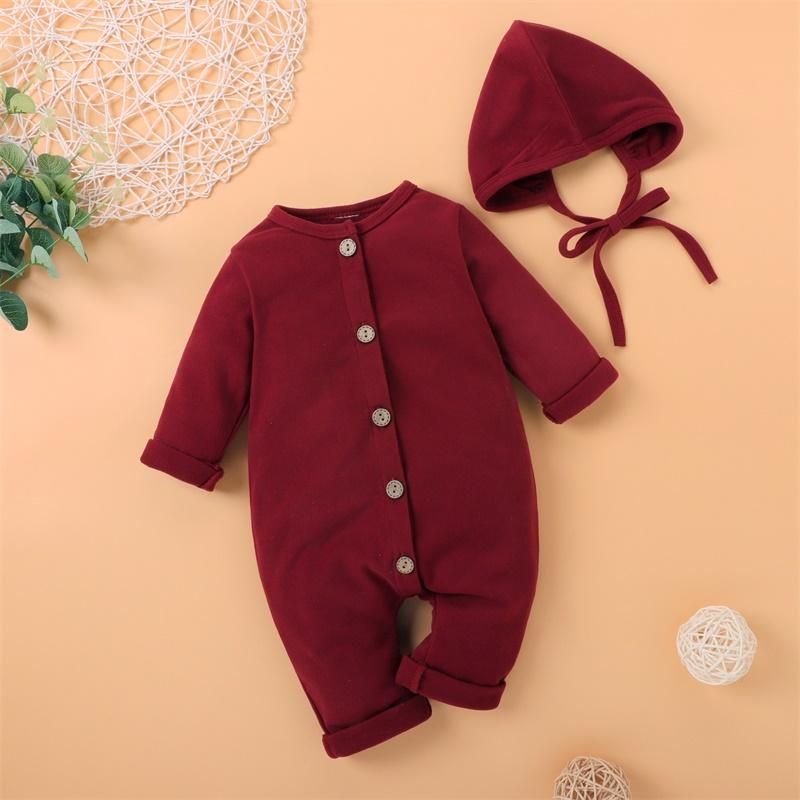 2-piece Jumpsuit & Hat for Baby Girl