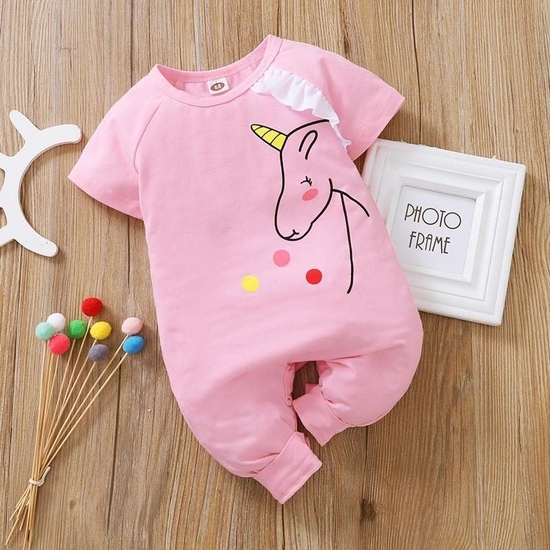 Unicorn Jumpsuit for Baby Girl