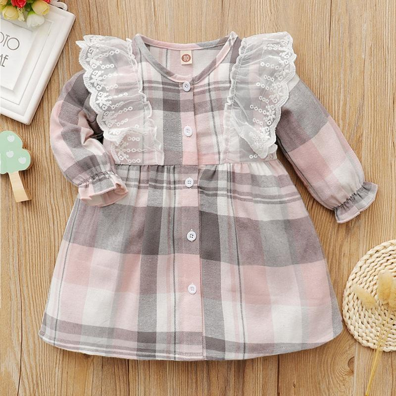 Plaid Dress for Baby Girl