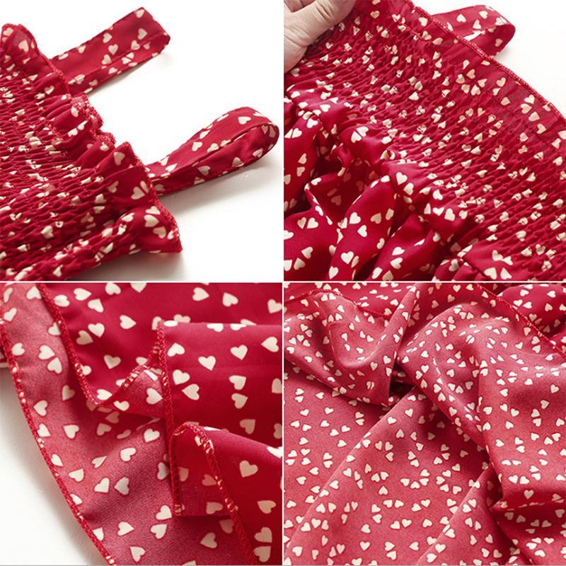 Heart-shaped Dress for Toddler Girl