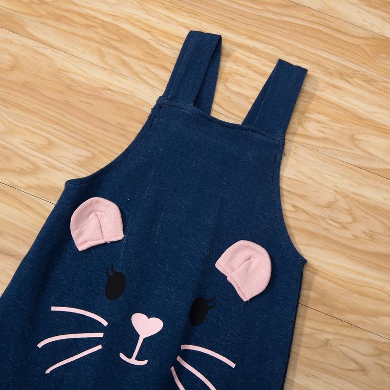 2-piece Sweatshirt & Bib Pants for Toddler Girl