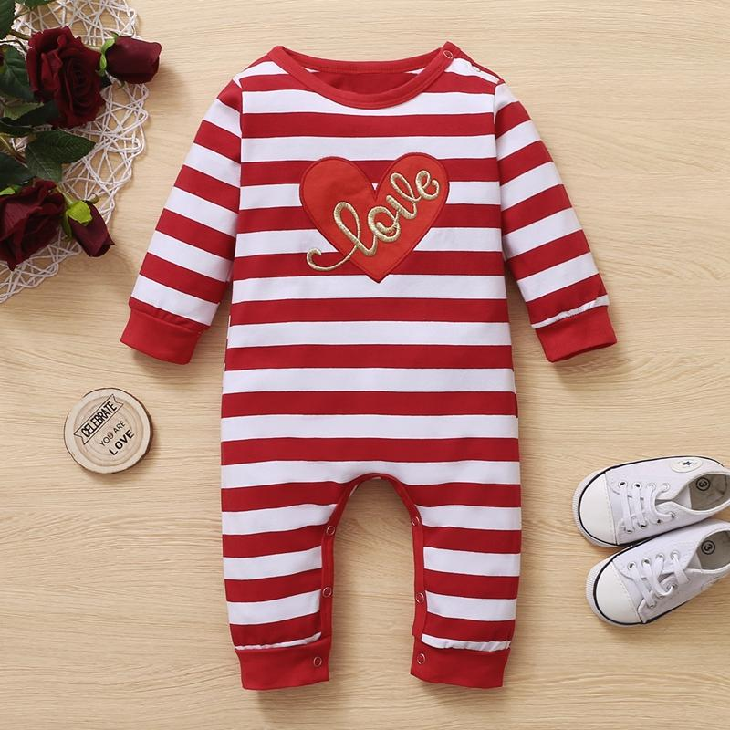 Heart-shaped Jumpsuit for Baby