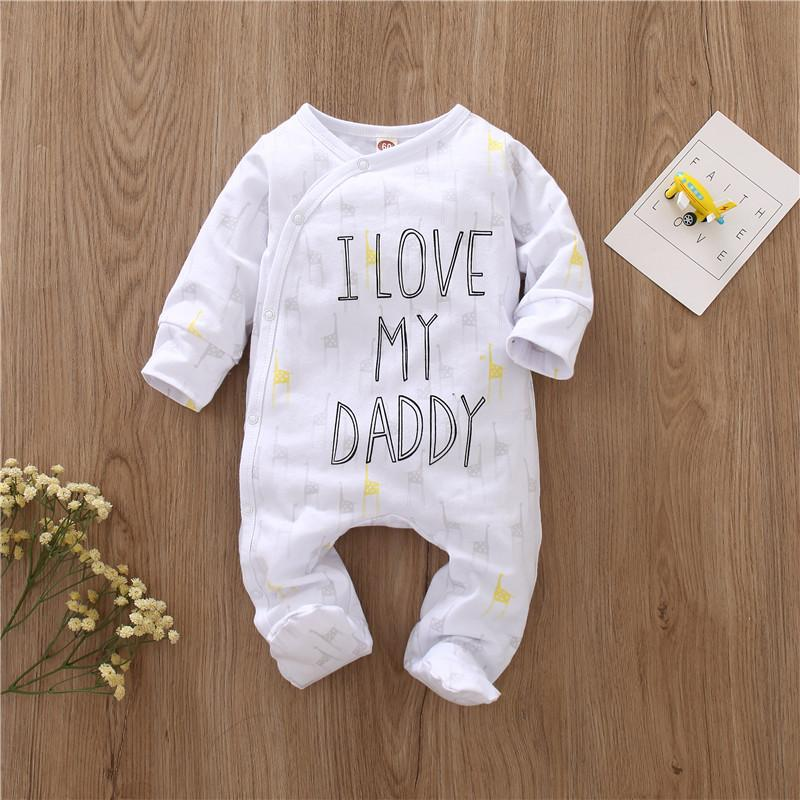 I Love My Daddy/Mummy Jumpsuit for Baby