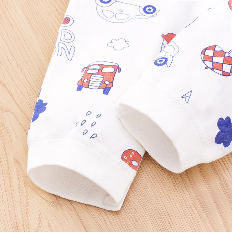 Cartoon Pattern Jumpsuit for Baby Boy