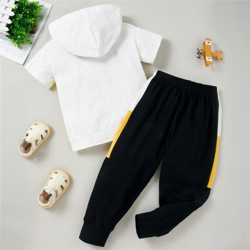 Toddler Girl Hooded T-shirt & Sweatpants Toddler Set