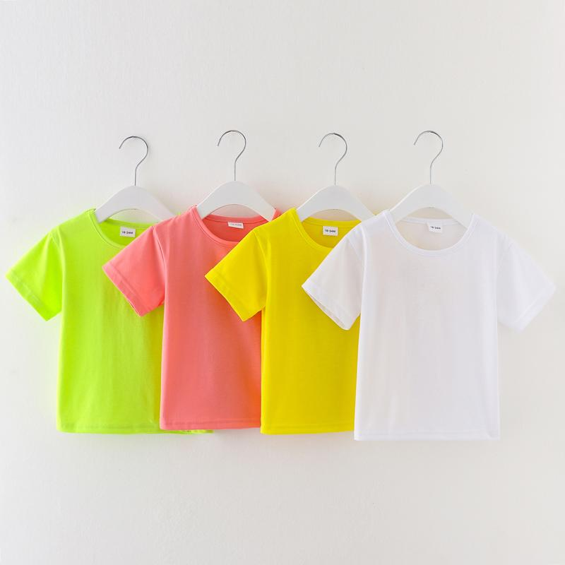 Toddler Girl Summer Solid T-shirt