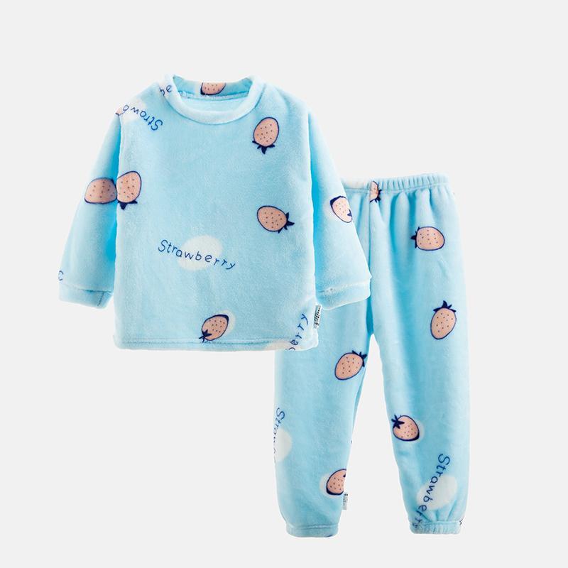 2-piece Fleece Casual Suit for Toddler Girl