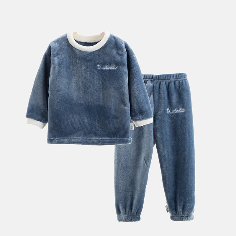 2-piece Fleece Casual Suit for Toddler Boy