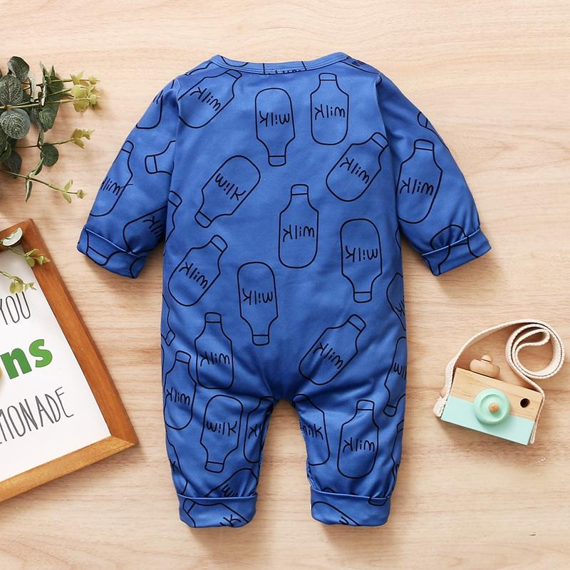 Baby Boy Long Sleeve Jumpsuit Spring Baby Clothes