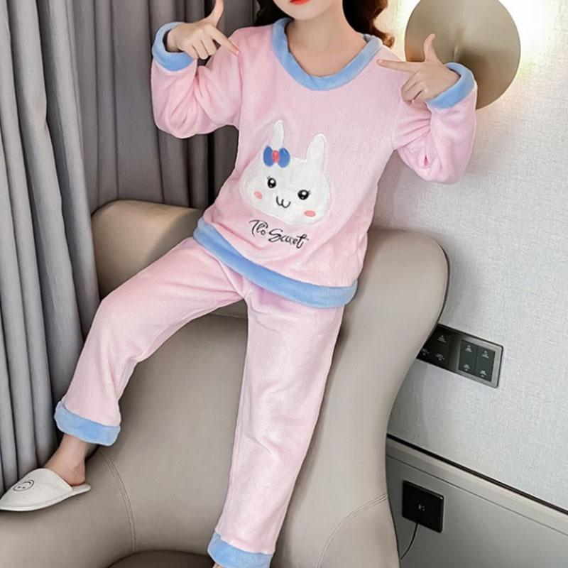 2-piece Cartoon Design Pajamas Sets for Girl