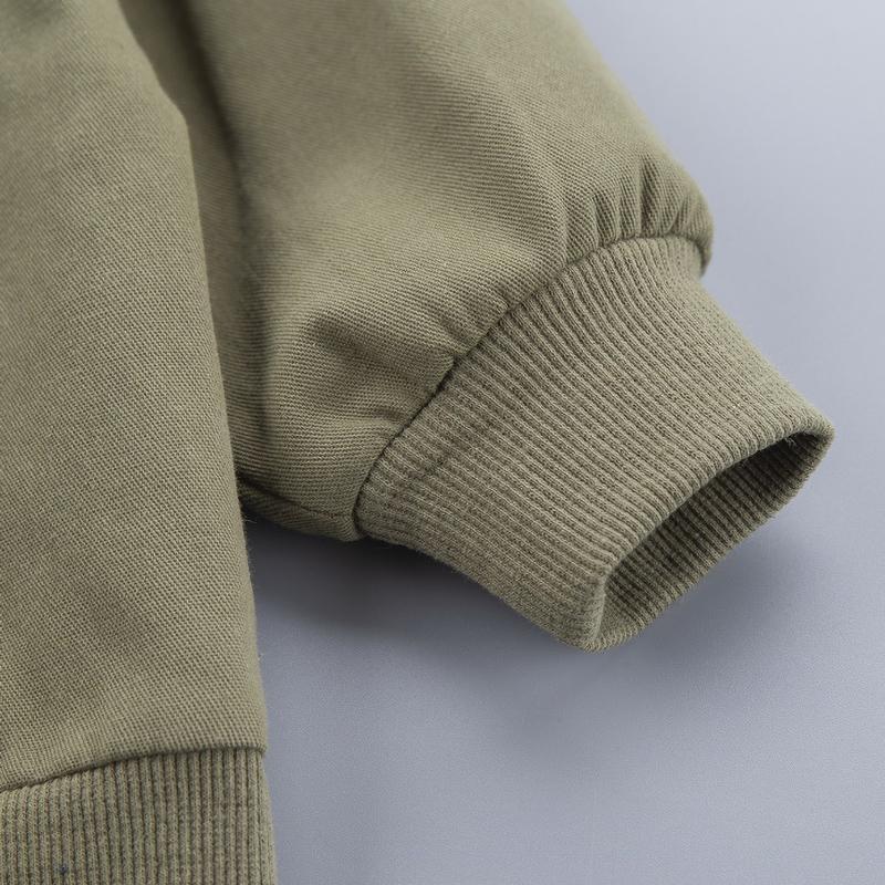 Toddler Boy Set Letter Printing Coat & Sweatshirt & Pants