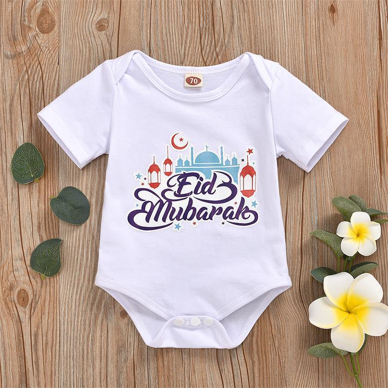 Baby Summer Short Sleeve Cotton Romper Unisex Baby Clothes