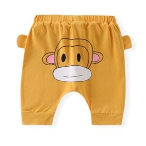 Animal Pattern PP Pants for Toddler Boy