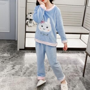 2-piece Cartoon Design Pajamas Sets for Girl