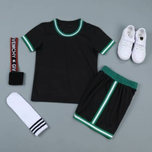 Sports Basketball Customizable Clothes T-Shirt Shorts - NBA Boston Celtics