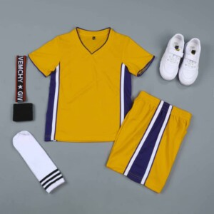 Sports Basketball Customizable Clothes T-Shirt Shorts - NBA Los Angeles Lakers