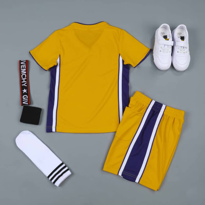 Sports Basketball Customizable Clothes T-Shirt Shorts - NBA Los Angeles Lakers