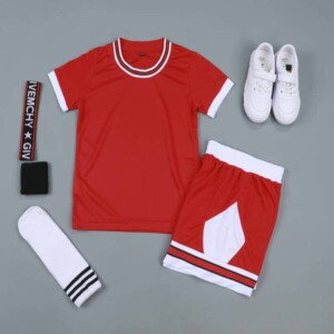 Sports Basketball Customizable Clothes T-Shirt Shorts - NBA Chicago Bulls