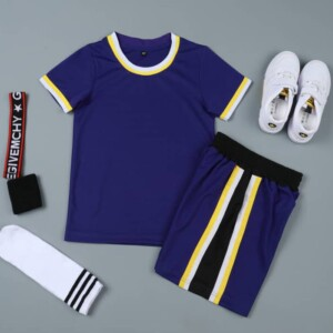 Sports Basketball Customizable Clothes T-Shirt Shorts - NBA BEAT LA