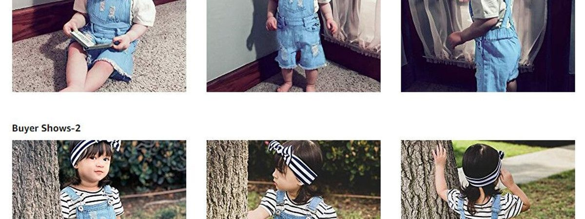 Toddler Infant Kids Girls Clothes Denim Ripped Jeans Pants Set